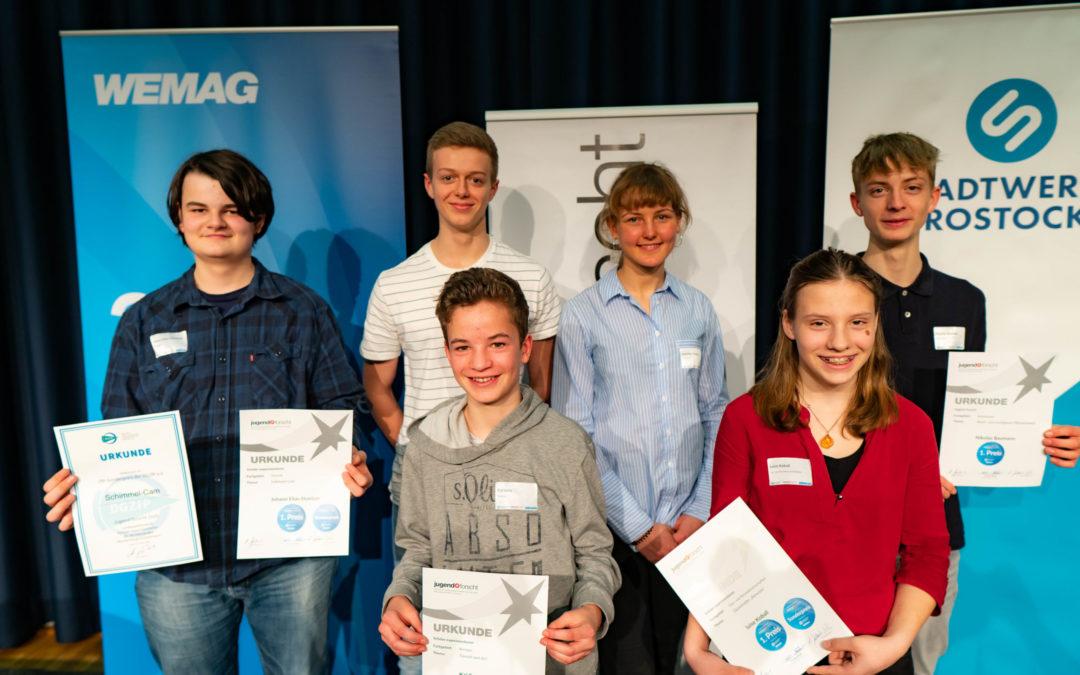 Das Mikro-MINT Schülerforschungszentrum Rostock beim 30. Landeswettbewerb Jugend forscht Mecklenburg-Vorpommern 2020
